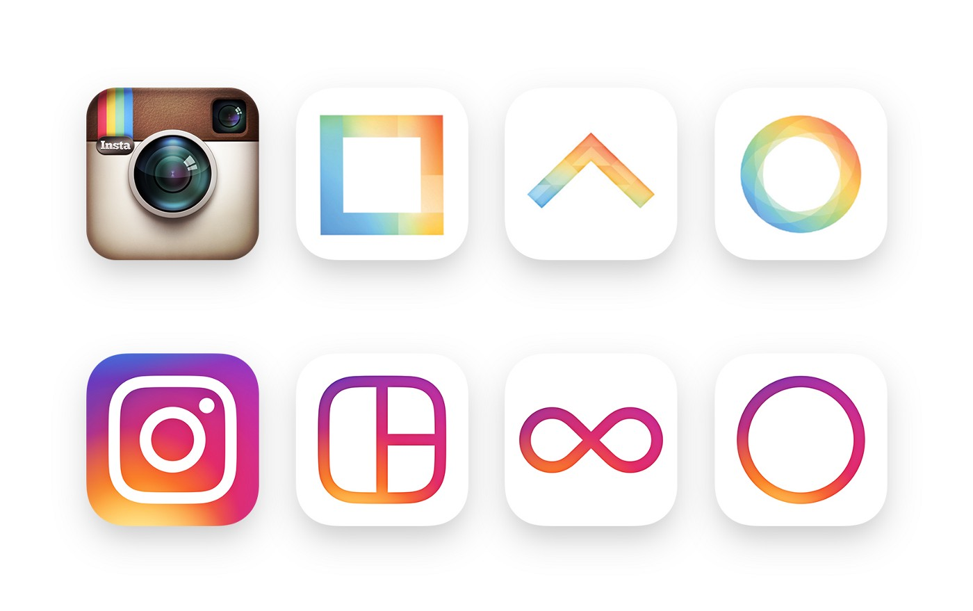 Instagram-apps-new-logos