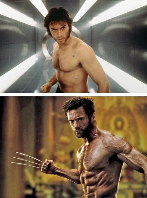 Wolverine en 2000 et 2013