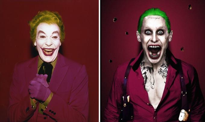 Le Joker en 1966 et 2016